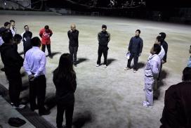 県青連ソフトボール大会練習
