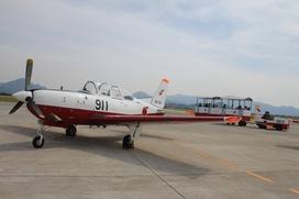 航空自衛隊防府北基地のセスナの写真